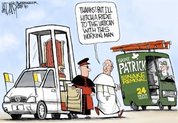 st pat pope